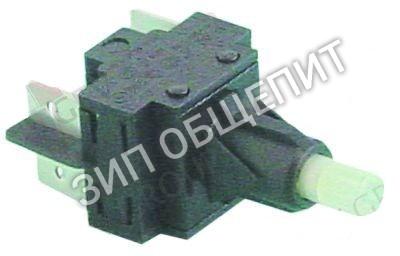 Блок переключателя Bartscher, 2NO, 250В, 16А, плоский штекер 6,3мм для TF350 / TF401 / TF50 / TF515 / TF525